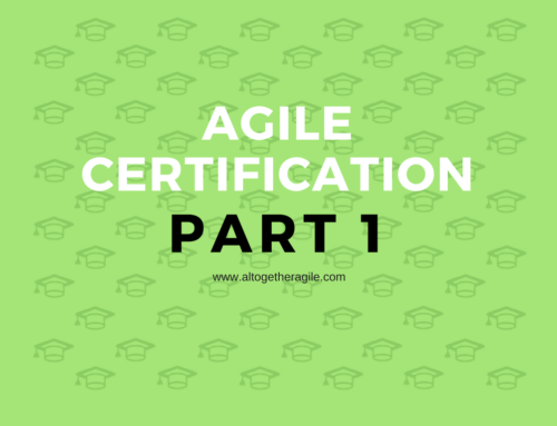 Agile Training Certification – 1