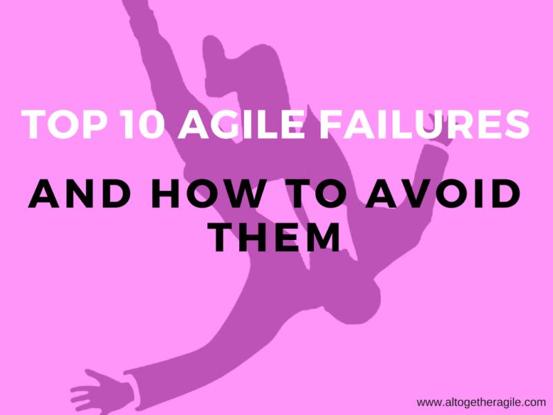 Agile failures
